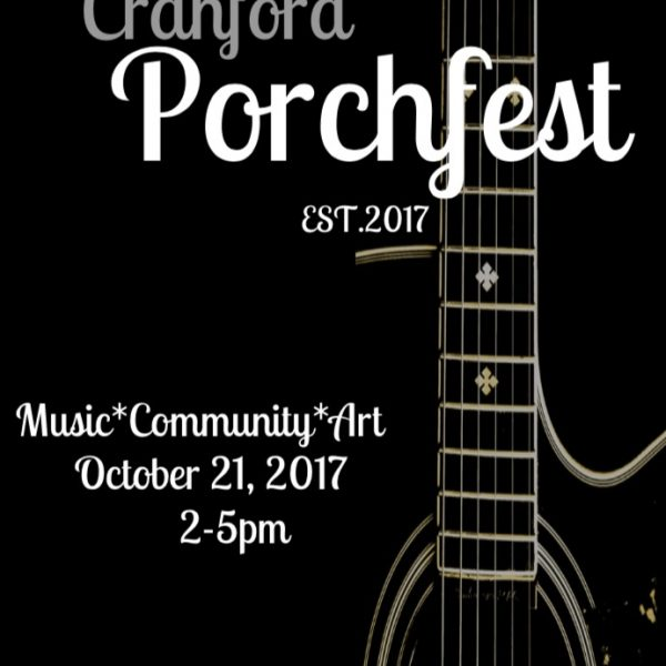 Cranford Porchfest 2017: Taking Porch Sitting to a Whole New Level!