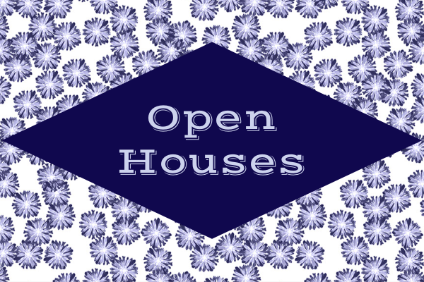 CRANFORD/WESTFIELD AREAS of NJ Open Houses