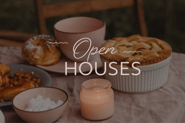 Open houses in Cranford and Westfield NJ