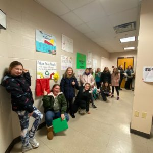 Cranford Girl Scouts Recycling Program
